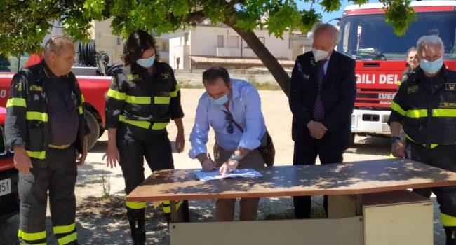 I Vigili del Fuoco di Marsala avranno una nuova sede. Sorgerà in via Grotta del Toro (VIDEO)