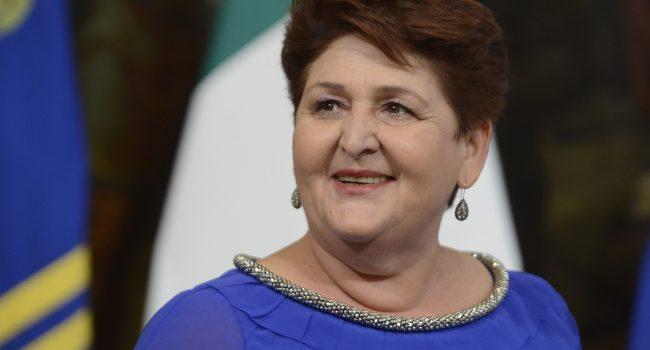 """Cgil: """"A Marsala scritta d'odio contro Teresa Bellanova"""""""