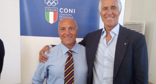 Riunione CONI a Mondello, firmata convenzione: 50 milioni per lo sport siciliano
