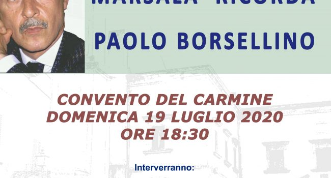 Marsala ricorda Borsellino e la scorta nel 28° anniversario della Strage di via D'Amelio