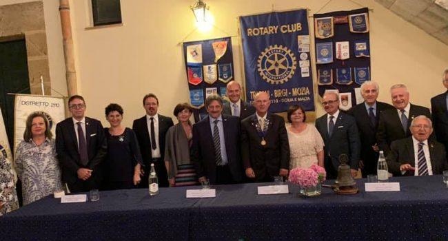Passaggio del collare al Rotary club Trapani, Mozia Birgi