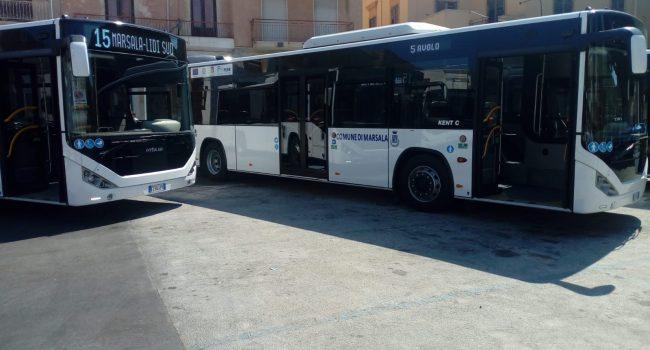 Marsala, presentati alla città i nuovi autobus che entreranno subito in servizio