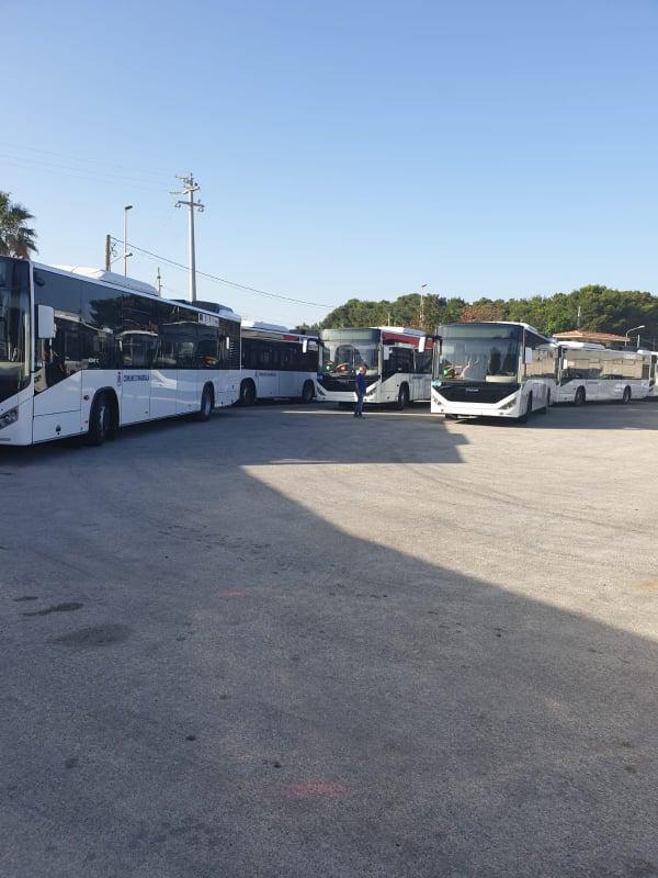 Marsala: arrivati nuovi autobus, il 6 luglio la presentazione