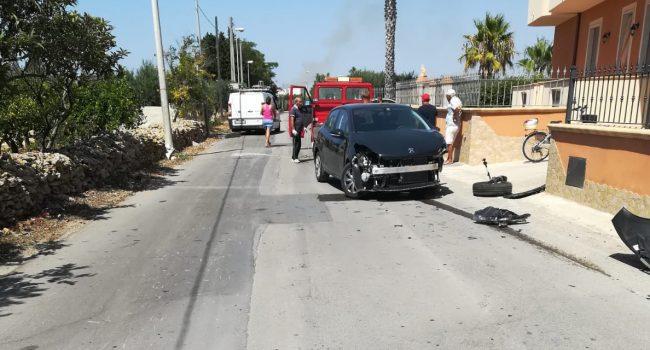 Scontro tra via Pupo e Ranna: non si ferma allo Stop e impatta con un'altra vettura