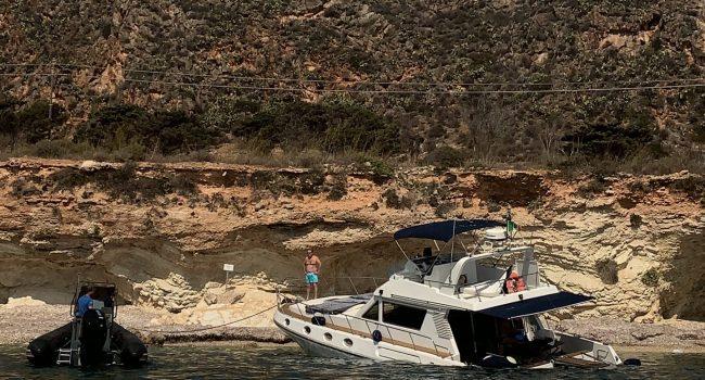 Barca in avaria a Favignana, soccorsi i passeggeri