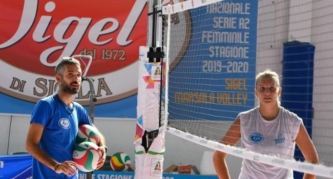 La Sigel Marsala Volley pronta per le amichevoli in trasferta