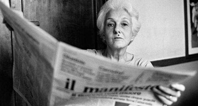 Addio a Rossana Rossanda, figura storica della sinistra italiana e fondatrice del Manifesto