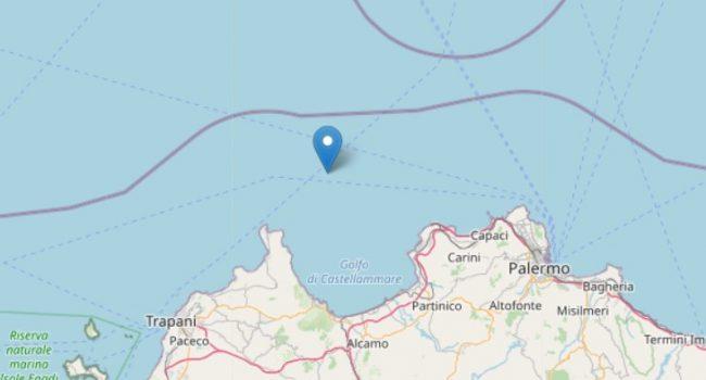 Terremoto al largo del golfo di Castellammare