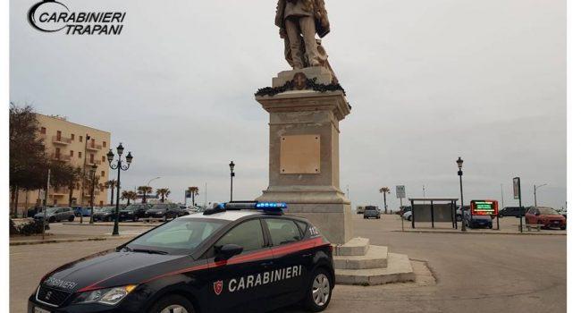 A Trapani controllo del territorio da parte dei Carabinieri: un arresto e due denunce