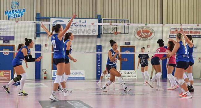 La Sigel Marsala Volley vince al tie-break in casa contro Cus Torino