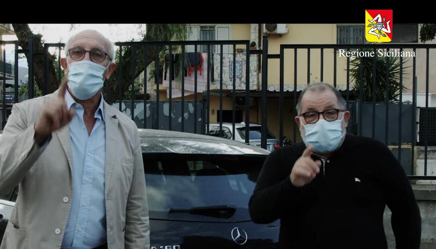 Nello spot Sicilia anti-Covid Toti e Totino. IL VIDEO