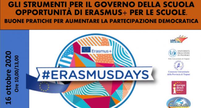 """Erasmusdays, evento digitale per l'Itet """"Garibaldi"""" di Marsala sul progetto internazionale"""