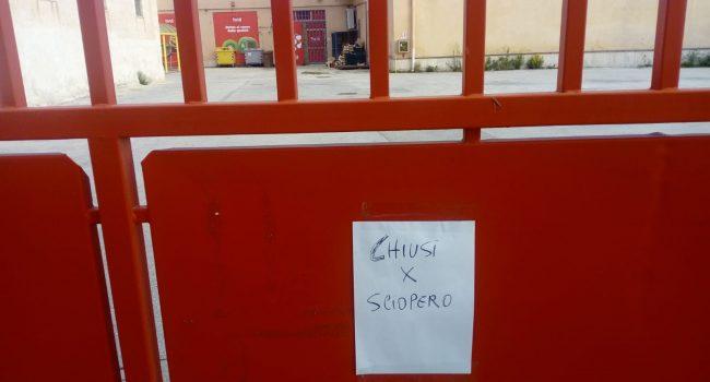 """Inizia lo sciopero dei lavoratori di """"Fortè"""". Chiusi i punti vendita"""