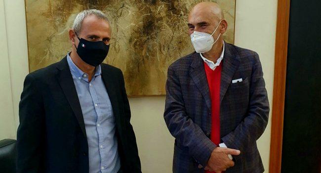 Fondazione Erice Arte, l'assessore Samonà incontra il neo Sovrintendente Guerri