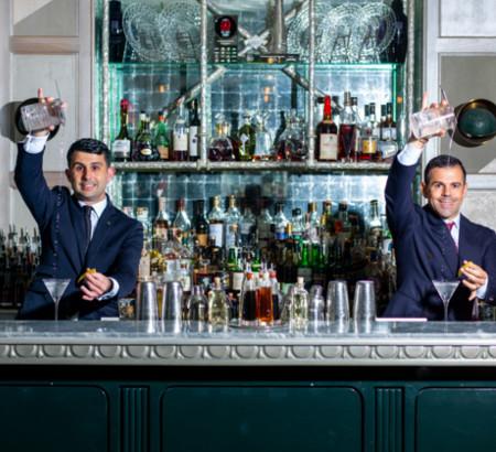 Due italiani alla guida del miglior bar del mondo. Si trova a Londra