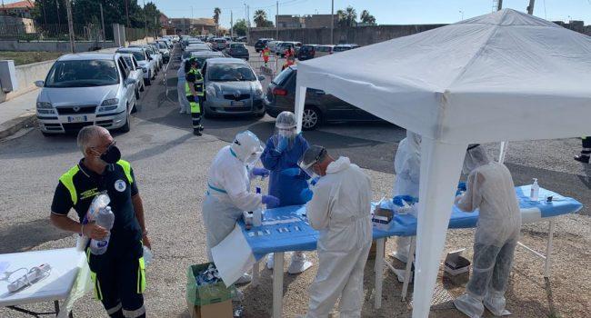 Coronavirus: nel weekend tamponi rapidi in 112 Comuni della Sicilia