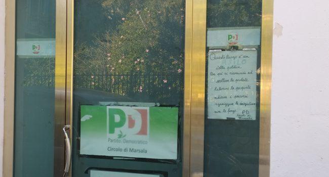 Scrive la dirigente Nina Pantaleo a proposito del circolo PD di Marsala