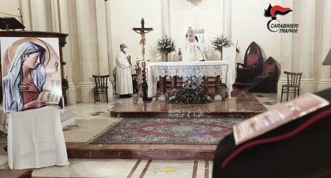 Trapani: Virgo Fidelis, celebrata la Patrona dell'Arma dei Carabinieri