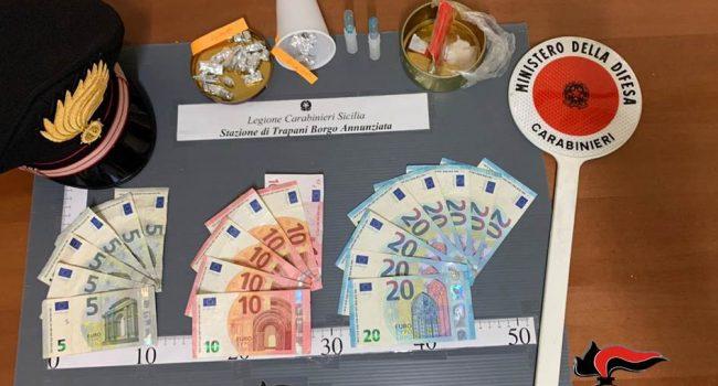 Trapani: occultava cocaina e soldi nella tuta, arrestato un minore