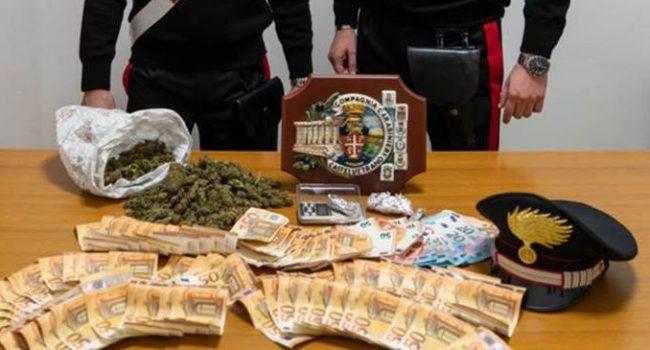 Partanna: arrestato un 39enne, nascondeva droga e soldi nella camera dei figli