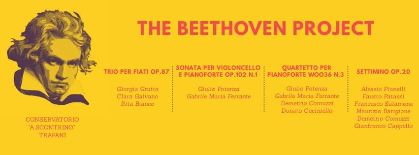 """Al Conservatorio """"Scontrino"""" eventi per il 250° anniversario dalla nascita di Beethoven"""