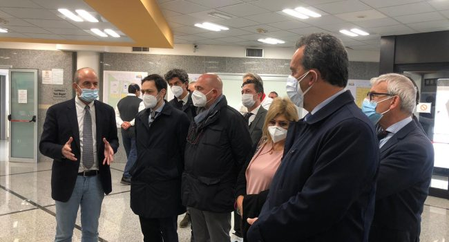 Nuovo padiglione per le malattie infettive: Razza a Marsala per l'avvio dei lavori. IL VIDEO