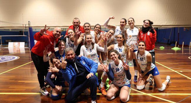 Partita d'esordio e prima vittoria per le ragazze della Com Fly Volley Marsala
