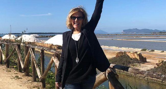 """Irene Grandi in visita a Marsala: """"Spero di tornare presto"""""""