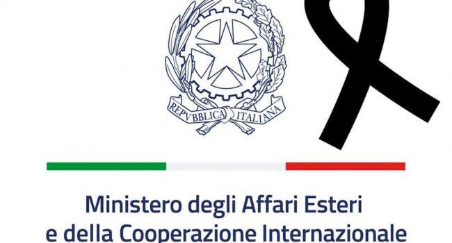 Congo. Drappo nero nella pagina Facebook del Ministero degli Esteri