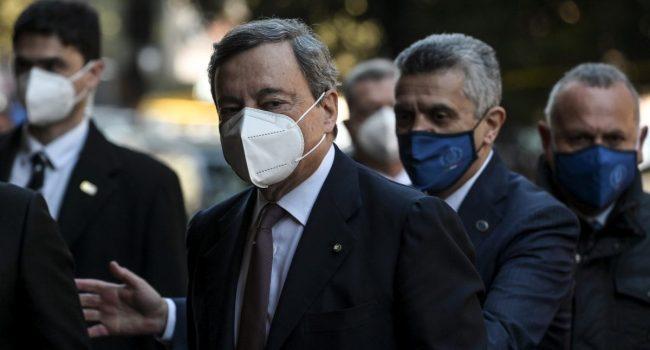 Draghi al G7, la salute bene pubblico globale