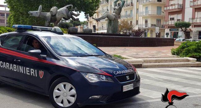 Marsala: avevano una mazza e due coltelli, intervengono i carabinieri