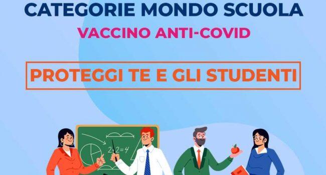 """Sicilia: al via prenotazione vaccini per il mondo della scuola. Anci: """"Dosi a tutto il personale"""""""