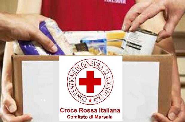 Pacco Alimentare a chi ha bisogno, la richiesta alla Croce Rossa di Marsala
