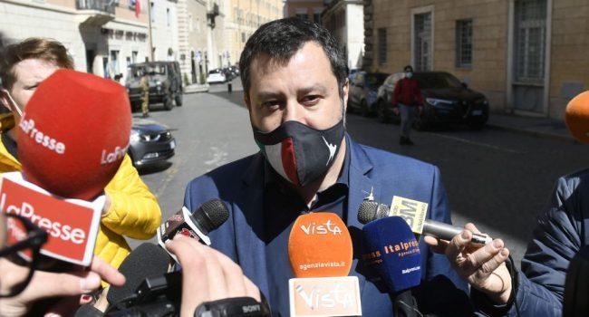 """Coronavirus, Salvini """"Su riaperture non è schedina totocalcio"""""""