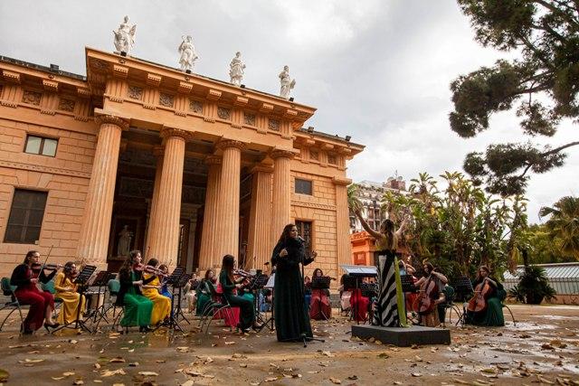 La Women Orchestra si esibisce all'Orto Botanico in streaming per Giornata della Terra, con la direzione della petrosilena Pipitone
