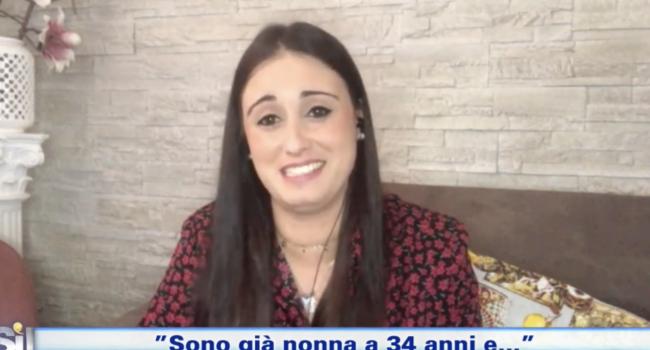 Pamela Gerardi, la nonna 34enne a Italia sì su Rai Uno