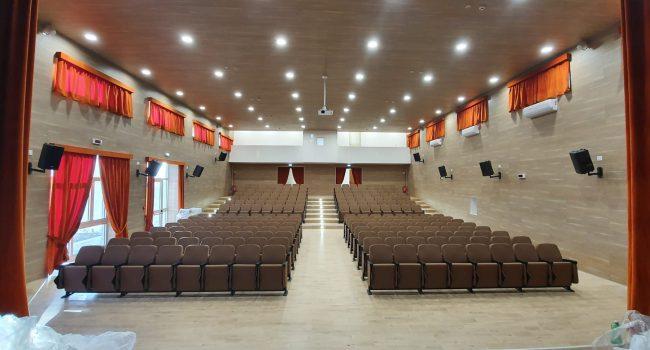 """Erice: consegnato il nuovo Auditorium all'istituto """"G. Pagoto"""""""