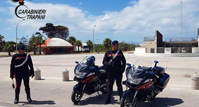 Marsala, i controlli (e le sanzioni) dei carabinieri nel weekend pasquale