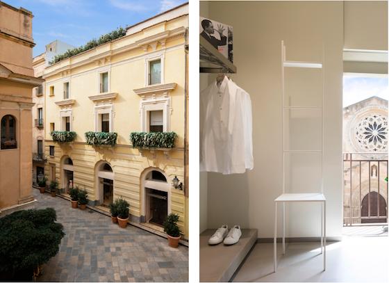 Leonardo Carpinteri e l'esclusiva boutique Modes di Trapani