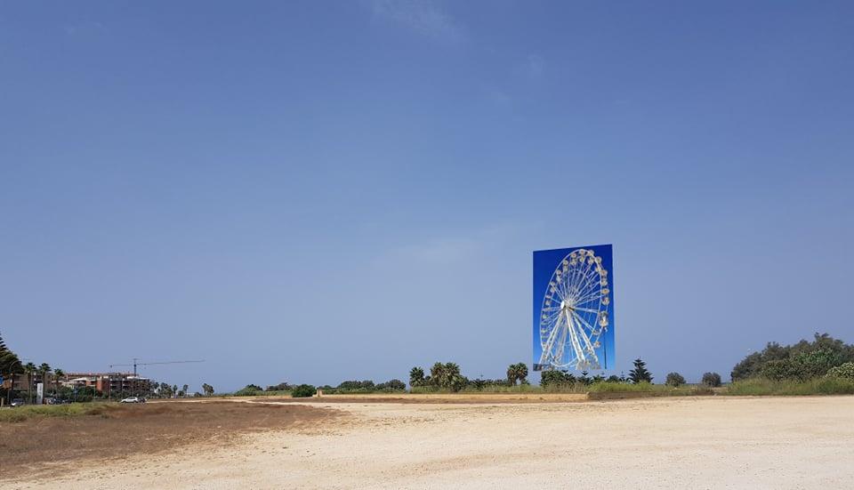 Una ruota panoramica a Salinella: l'architetto Pedone spiega la sua proposta